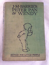 J M Barrie's Peter Pan and Wendy - Illustrated by Mabel Lucie Attwell - 1930s