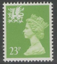 WALES SGW57 1988 23p BRIGHT GREEN MNH