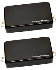 Seymour Duncan AHB-1 Blackouts Active Humbucker Set - black chrome  - free ship