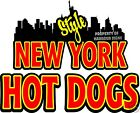 New York Style Hot Dogs Decal 8