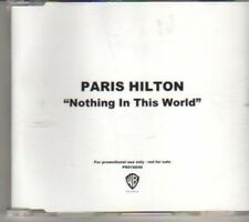 (BX563) Paris Hilton, Nothing In This World - 2006 DJ CD