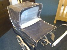 NEW Silver Cross Oberon Rose Dolls Pram Raincover Toy Vintage Classic Dust Cover