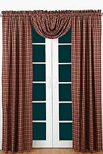 Braddock Scalloped Lined Curtain Panel Set by VHC Brands - Victorian Heart