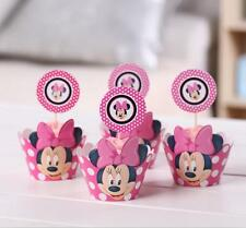 Minnie mouse cupcake wrappers decoration birthday party supplies wedding gifts