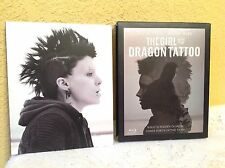 THE GIRL WITH THE DRAGON TATTOO BLU-RAY + DVD 2011 PSYCHOLOGICAL THRILLER MOVIE