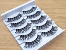 Unechte Wimpern 10xPaar Damen Falsche künstliche 1xBOX Handgemacht Eye Lashes