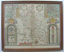 Original antique map of Buckinghamshire by John Speed, 1646