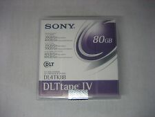NEW Factory Sealed Sony DLTtape IV DL4TK88 Data Tape Cartridge DLT4000/7000/8000