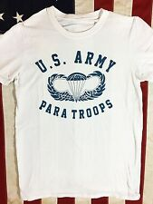 WWII US Army Paratroops Jump Wings PT Repro T Shirt w/ Spec Tag Men's size XXL