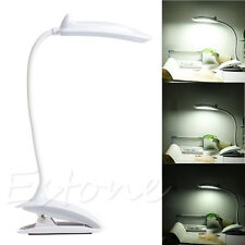 Flexible 18LED Light Clip On Bed Table Desk Lamp Reading Touch Sensor Light Bulb