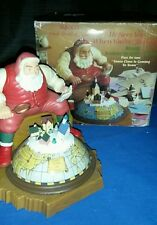 Enesco Small World Of Music He See's You When Your Sleeping Christmas Santa