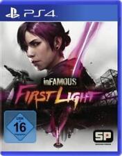 PlayStation 4 inFamous First Light Deutsch OVP Neuwertig