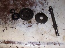 84 HONDA TRX200 ATC200 ATV ATC STARTER GEARS WITH SHIMS AND SHAFT N914