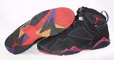 Pre-owned Mens Nike Air Jordan Retro 7 Black Charcoal Red Raptor 304775 006 VNDS