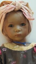 "Annette Himstedt KUKI 25"" tall vinyl doll made in Germany #328 of 713 pieces"