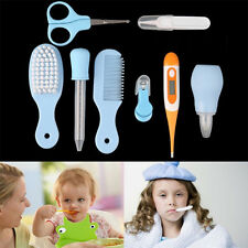 8 Pcs Newborn Baby Nail Hair Health Care Body Thermometer Grooming Kit Set Gifts