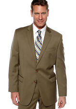 Tommy Hilfiger MEN PALMER TAN SUIT JACKET 100% WOOL RETAIL $325 size 38 LONG NEW