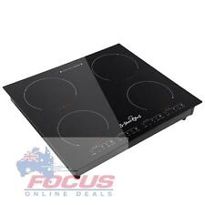 Cooktop 4 Zone 5 Star Chef Electric Induction Ceramic incl 12 Month Warranty