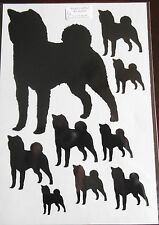 Shiba Inu vinyl stickers/ car decals/ window decals