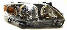 Toyota Corolla 2009-2013 Right Front head lamp lights for S/RS models Black USA*