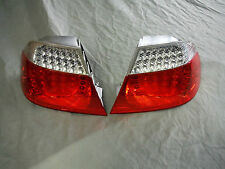 BMW E46 PAIR OF NEW OEM LED TAIL LIGHTS 63216920696 AND 63216920695