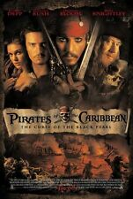 Pirates of the Caribbean The Curse of the Black Pearl 27x40 Rare Movie Poster