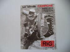 advertising Pubblicità 1975 RG e MOTO KTM e ALESSANDRO GRITTI