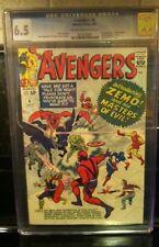 The Avengers #6 (Jul 1964, Marvel) CGC 6.5 ** 1st appearance of Baron Zemo **
