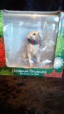 Sandicast Yellow Lab Christmas Ornament