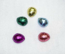 Lola Originals Artisan Crafted Foil Wrapped Easter Eggs 1:12 Dollhouse Miniature