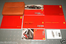 2006 Ferrari F430 F 430 Spider Owners Manual - SET (Italian Version)