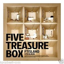 FTISLAND - Five Treasure Box (4th Album) CD+Gift Photo