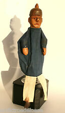 KASPER dollMan antique Wood doll,carved,1920 Hand puppet Puppet show