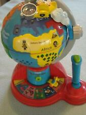 VTech Fly and Learn Adventure Talking Globe Controller Geography Education