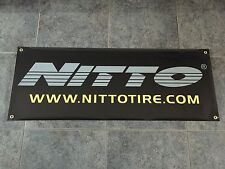 Nitto Tires banner sign shop garage performance off road JDM racing motorsports