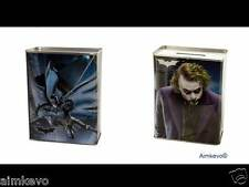 The Dark Knight Movie Batman The Joker Piggy Bank Sturdy Tin Coin Bank