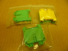 WEIDMULLER WPE-35 CONNECTOR TERMINAL 1 LOT OF 3 CONNECTORS