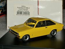 FORD ESCORT MK2 1100 POPULAR DAYTONA YELLOW TROFEU 1001Y 1:43