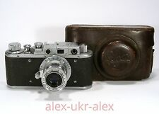 Russian Zorki with Industar-22 lens 35-mm RF film camera.Excellent,repaired