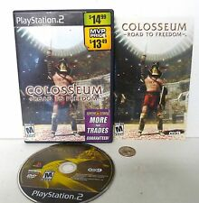 Colosseum: Road to Freedom - PS2 Sony Playstation 2 game COMPLETE