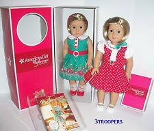 AMERICAN GIRL DOLL KIT PLUS KIT'S REPORTER DRESS SET - ONE DOLL TWO OUTFITS