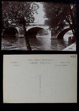 402-PARIS -98 Le Pont Royal. (Real Photo)