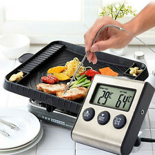 Instant Digital LCD Food Probe Cooking BBQ Meat Oven Chocolate Thermometer