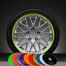 Car Wheel Rim Edge Scratch Guard Protection Line Tape Moulding Strip Cover Green