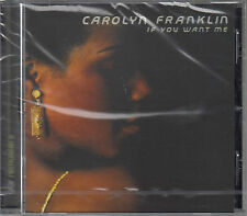 Carolyn Franklin - If You Want Me (CD) 1976  NEU/Sealed !!!