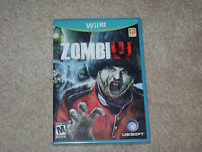 ZOMBIE U....NINTENDO WII U...***SEALED***BRAND NEW***!!!!!!