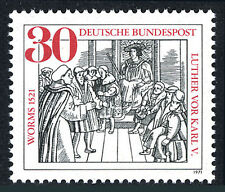 Germany 1063, MNH. Luther Facing Charles V, Woodcut by Rabus, 1971