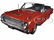 1963 FORD FALCON OPEN CONVERTIBLE CHESTNUT POLY 1/18 MODEL CAR SUNSTAR 4534