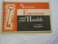 Nerves Emotions and your Health 1963 paperback health