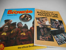 Cub Scout badges for adventure 1985 The Brownie Annual Book 1984 - Scout Book